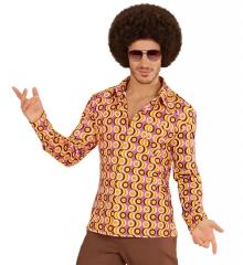 70er Jahre Hemd Discohemd Partyhemd Retro Vintage