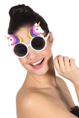 Einhornbrille Kinder / Erwachsene Unicorn Partybrille Einhorn-Zubehör