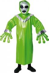 Außerirdischer Alien Kinder Marsmensch Grünes Männchen