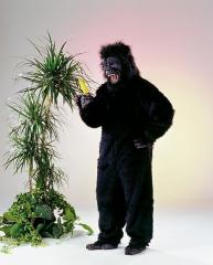 Affe Gorilla Jack Kostüm mit Maske Karneval Fasching