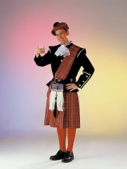 Schotte Herrenkostüm Karneval Fasching Mottoparty