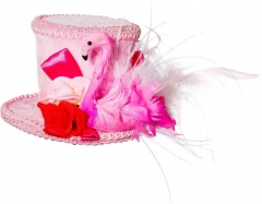 Flamingo Flamingohut Junggesellenabschied Partyhut pink
