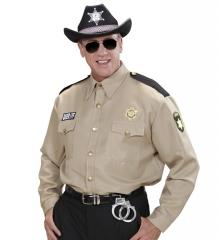 Sheriff Sheriffhemd amerikanische Polizei Marshall Officer