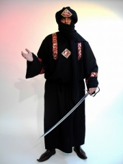 Araber Sultan Orient schwarz Karneval Fasching Kostüm