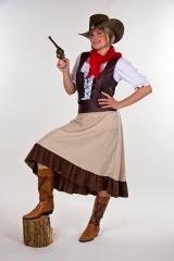 Westerngirl Saloongirl Wilder Westen Cowgirl Deutsche Herstellung
