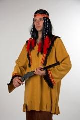 Indianeroberteil Wilder Westen Oberteil Unisex Squaw Apache