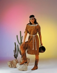 Indianerin Western Squaw Karneval Fasching Kostüm Party