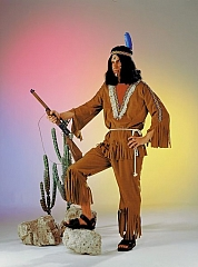 Indianer Kostüm Manitu Karneval Fasching Party