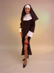 Nonne Ordensschwester Kloster Karneval Fasching Shop