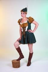 Damenkostüm Robina Hood Karneval Fasching Mottoparty
