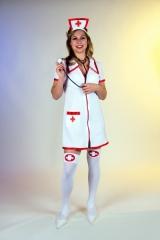 Sexy Krankenschwester Damenkostüm Karneval Fasching