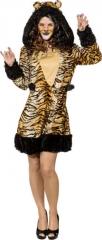 Raubkatze Tigerkleid Dschungel Raubkatzenkostüm Tigerlilly