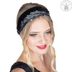 Charleston Disco Party Haarband mit Wendepailletten