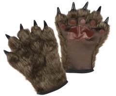 Werwolf Krallenhände Wolfskrallen Monsterhände mit Krallen und Fell