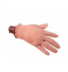 Echtaussehende abgetrennte Hand Halloween Schocker Horror