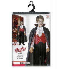 Vampir Dracula Hemd mit Hose Weste Fliege schwarzer Umhang