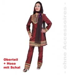 Mahima Damenverkleidung Indien Faschingskostüm Karneval Mottoparty