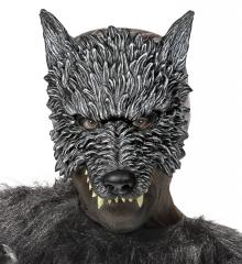 Werwolf Werwolfmaske Wolf Wolfmaske Monstermaske Halloween
