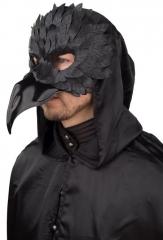 Rabenmaske Vogel Vogelmaske Rabe Krähe Rabenvogel