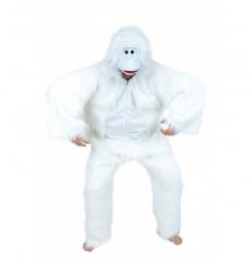 Yeti Schneemensch Plüschkostüm weißer Affe Karneval Apres Ski