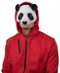 Pandamaske Panda Pandabär aus dickem PU Schaum
