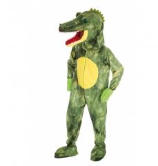 Krokodil Krokodilkostüm Aligator Maskotchen Kostüm