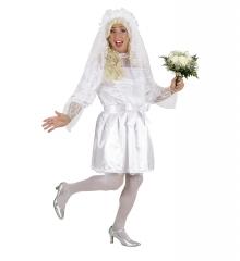 Junggesellenabschied Männliche Braut Männerkleid Partykracher