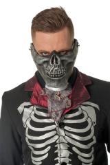 Stabile Gesichtsmaske Skelettmaske Mundmaske Horrormaske