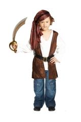 Kleiner Pirat Seeräuber Kinderkostüm Faschingskostüm Verkleidung Kinde