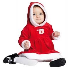 Little Miss Santa Kinderkostüm Babykostüm Nikolauskostüm Fotoshooting