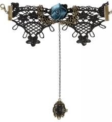 Gothic Steampunk fingerloser Handschuh mit Ring