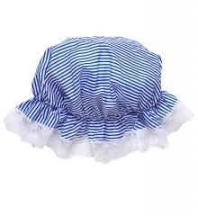 Schlafmütze Nachtmütze gestreift blau weiß Schlafwandler