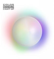 Leuchtende Kristallkugel mit Farbwechsel Wahrsagerin