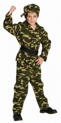 Soldat Bundeswehr Kämpfer Soldatenanzug Nato 116 bis 164