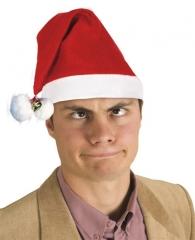 Nikolaus Weihnachtsmann Santa Claus Mütze mit Glocken