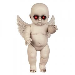 Teuflischer Engel Babyengel Horrorfigur Halloweendekoration