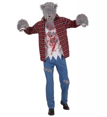 Werwolf Halloweenkostüm Wolf Wolfkostüm Komplettkostüm