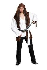Pirat Seeräuber Herrenkostüm Faschingskostüm Verkleidung Mottoparty