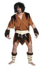 Höhlenmann Neandertaler Herrenkostüm Steinzeitmensch Karnevalskostüm
