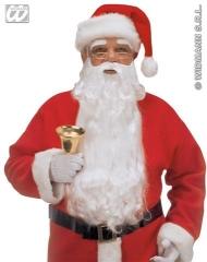 Nikolaus Weihnachtsmann Bart + Augenbrauen Santa Claus