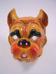 Hund Tiermaske Karneval Fasching Kostüm Party