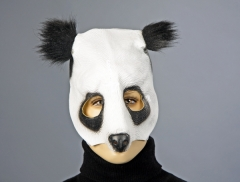 Pandabär Partymaske Tiermaske Kostümmaske Karnevalsmaske