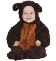 Babykostüm Bär Bärchen Braunbär Größe 0-6 Monate oder Größe 1-2 Jahre