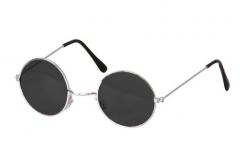 Brille John mit Silberfassung Sonnenbrille