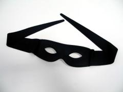 Augenmaske Stoff mit Bindebändern Karneval Party