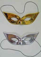 Augenmaske silber oder gold