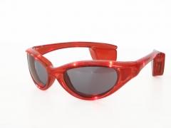 Brille mit Licht Fasching Karneval Accessoires Zubehör