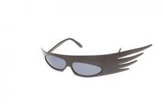 Brille Punk Sonnenbrille Fasching Karneval Accessoires