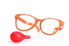 Brille mit Wasserspritzer Faschingsbrille Accessoires Partybrille Gag