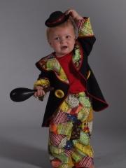 Clown August 128 140 Karneval Fasching Kostüm Party